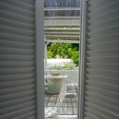 Verandah from Apt 2 window -