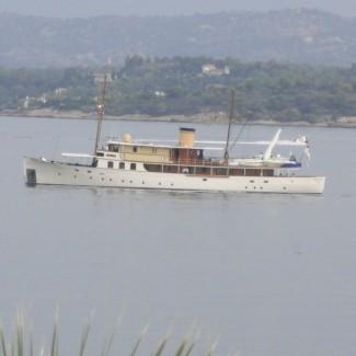 Oldtimer yacht -