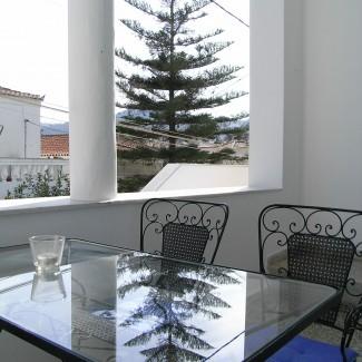Apartment 3 balcony -